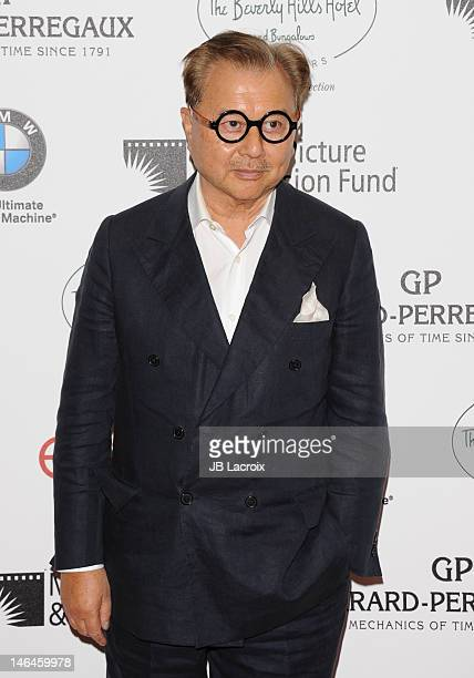Michael Chow attends the 100th anniversary celebration of the Beverly Hills Hotel Bungalows supporting the Motion Picture Television Fund and the...