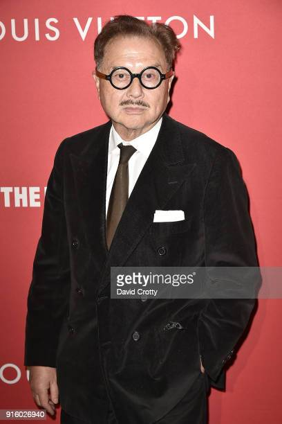 Michael Chow attends the Jasper Johns 'Something Resembling Truth' opening reception at The Broad on February 8 2018 in Los Angeles California