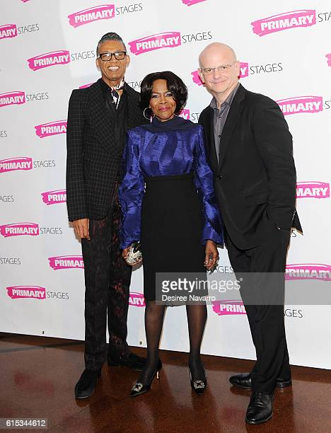 B Michael Cicely Tyson and Michael Wilson attend Primary Stages 2016 Gala at 538 Park Avenue on October 17 2016 in New York City