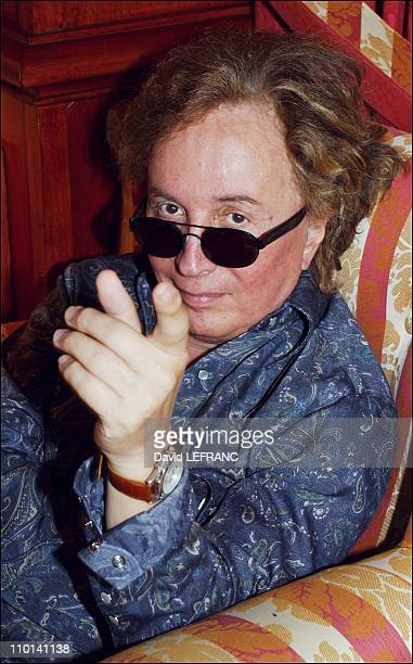 Michael Cimino at Deauville film festival in Deauville France on September 06 2001 In the photo Michael Cimino at hotel Royal