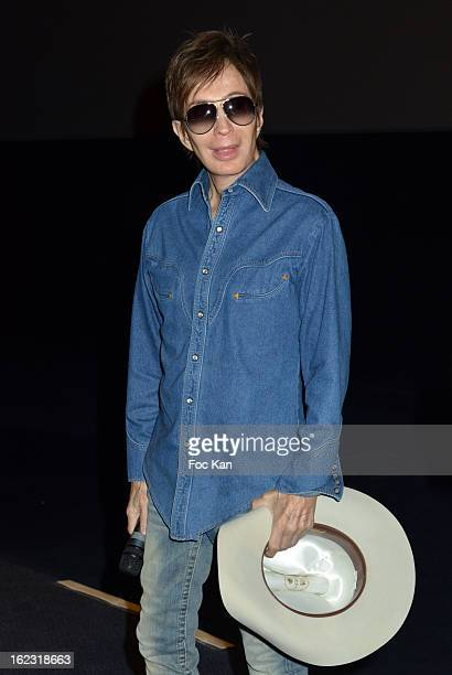 Michael Cimino attends 'La Porte Du Paradis Film Restore' Heaven's Gate Premiere at the UGC Cine Cite des Halles on February 21 2013 in Paris France