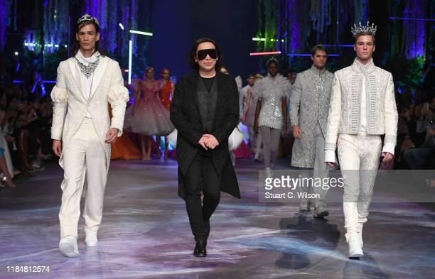 Michael Cinco during the FFWD October Edition 2019 at the Dubai Design District on October 31 2019 in Dubai United Arab Emirates