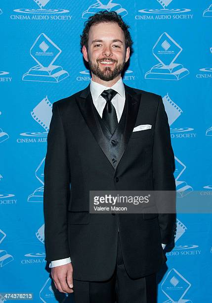 Michael Clark attends the 50th Annual CAS Awards From The Cinema Audio Society at Millennium Biltmore Hotel on February 22 2014 in Los Angeles...