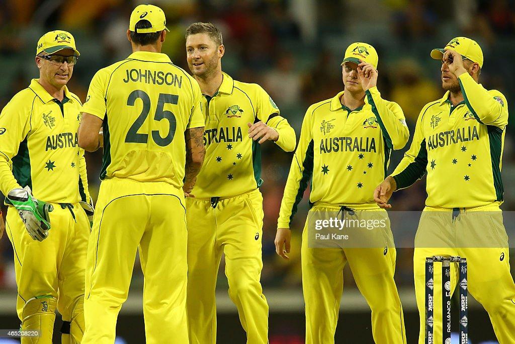 Australia v Afghanistan - 2015 ICC Cricket World Cup : News Photo