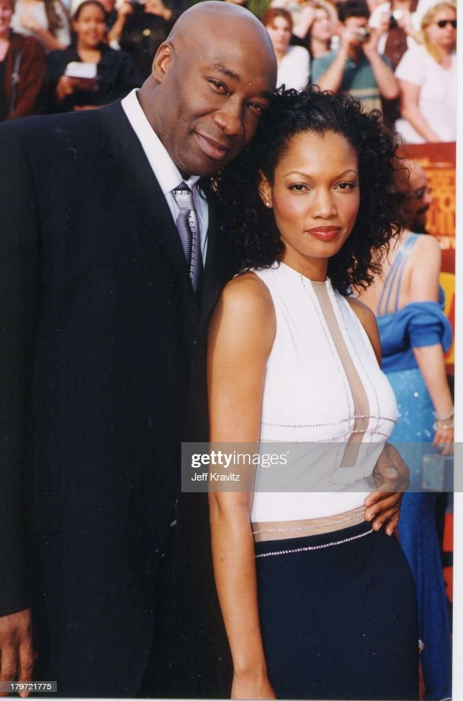Michael Clarke Duncan and Garcelle Beauvais-Nillon