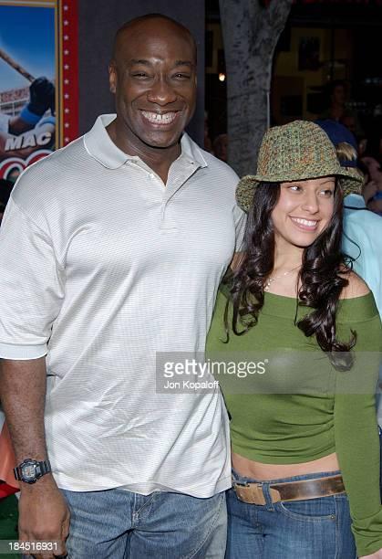 Michael Clarke Duncan and girlfriend Irene Marquez