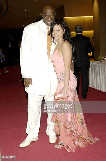 Michael Clarke Duncan and Irene Marquez