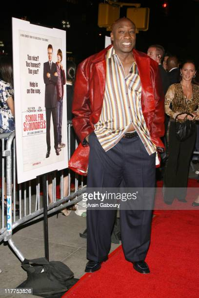 """Michael Clarke Duncan during """"School For Scoundrels"""" New York Premiere at AMC Loews Lincoln Square in New York City, New York, United States."""