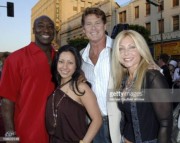 Michael Clarke Duncan, Irene Marquez, David Hasselhoff and Pamela Bach Hasselhoff