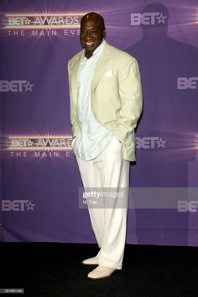 Michael Clarke Duncan, presenter during BET Awards 2007 - Press Room at Shrine Auditorium in Los Angeles, California, United States.