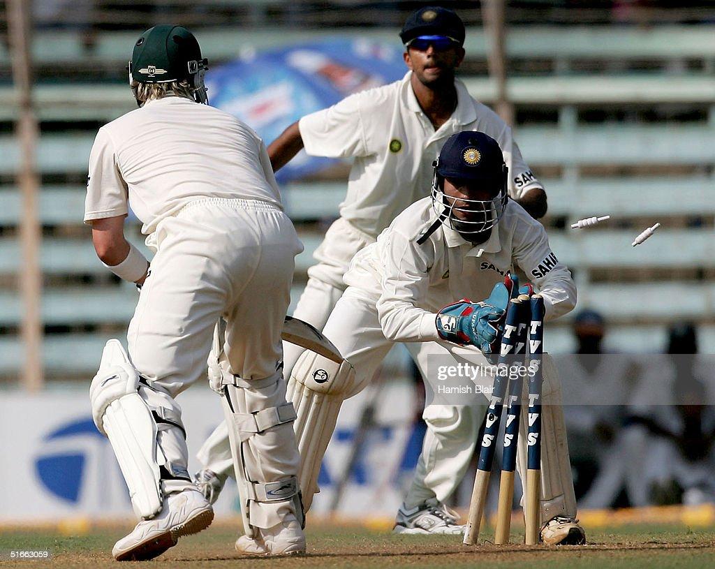 Fourth Test - India v Australia: Day 2 : News Photo