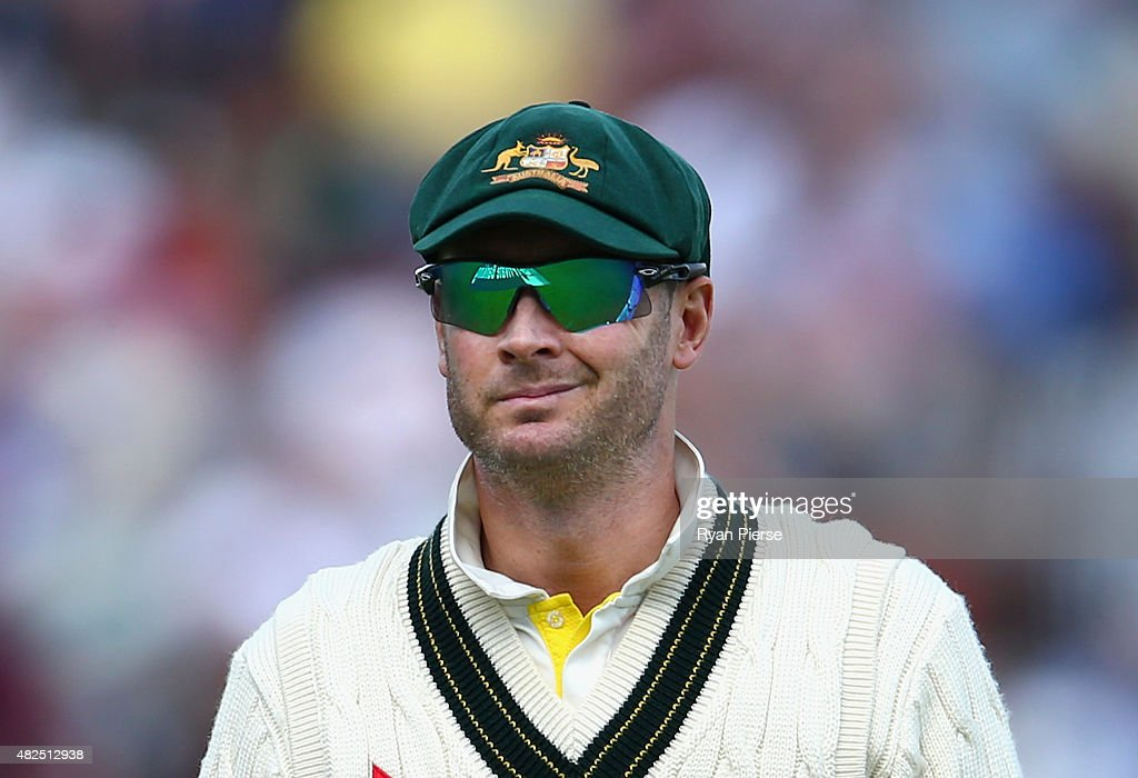 England v Australia: 3rd Investec Ashes Test - Day Three : News Photo