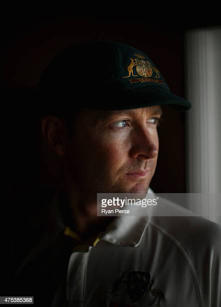 Michael Clarke of Australia poses during an Australian portrait session on May 31 2015 in Roseau Dominica