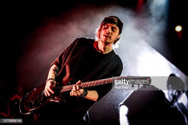 Michael Clifford of 5 Seconds of Summer performs onstage during WiLD 949's FM's Jingle Ball 2018 Presented by Capital One at Bill Graham Civic...