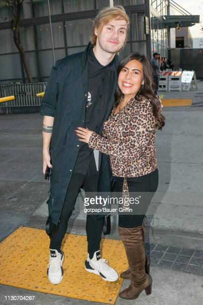 Michael Clifford of music band '5 Seconds Of Summer' is seen on March 14 2019 in Los Angeles California