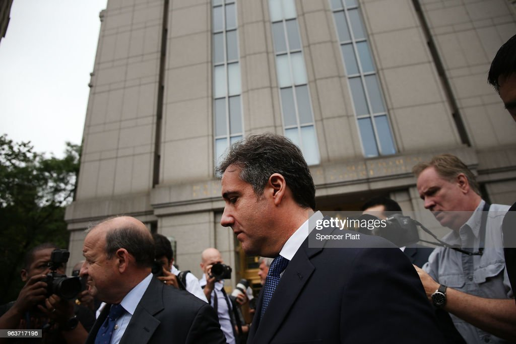 Former Trump Lawyer Michael Cohen Returns To Court In New York City : News Photo