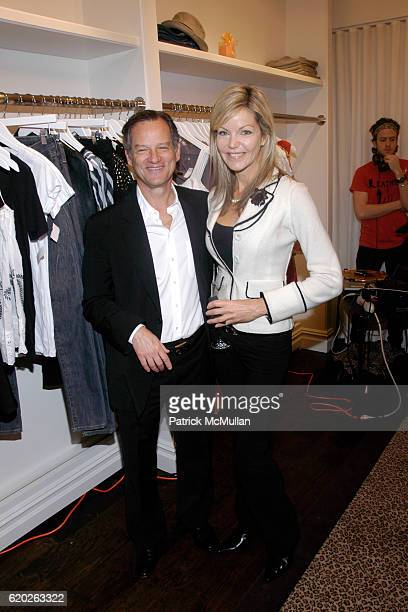 Michael Cohen and Julie Hayek attend NIKKI LAURA Woman's Boutique Grand Opening at 4 Prince Street on April 2 2008 in New York City