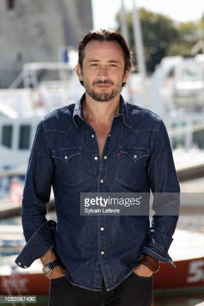 Michael Cohen attends day 4 photocall of 20th Festival of TV Fiction on September 15 2018 in La Rochelle France