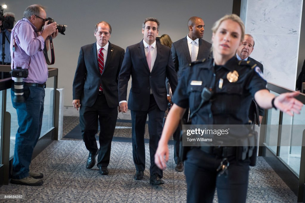 Michael Cohen... : News Photo
