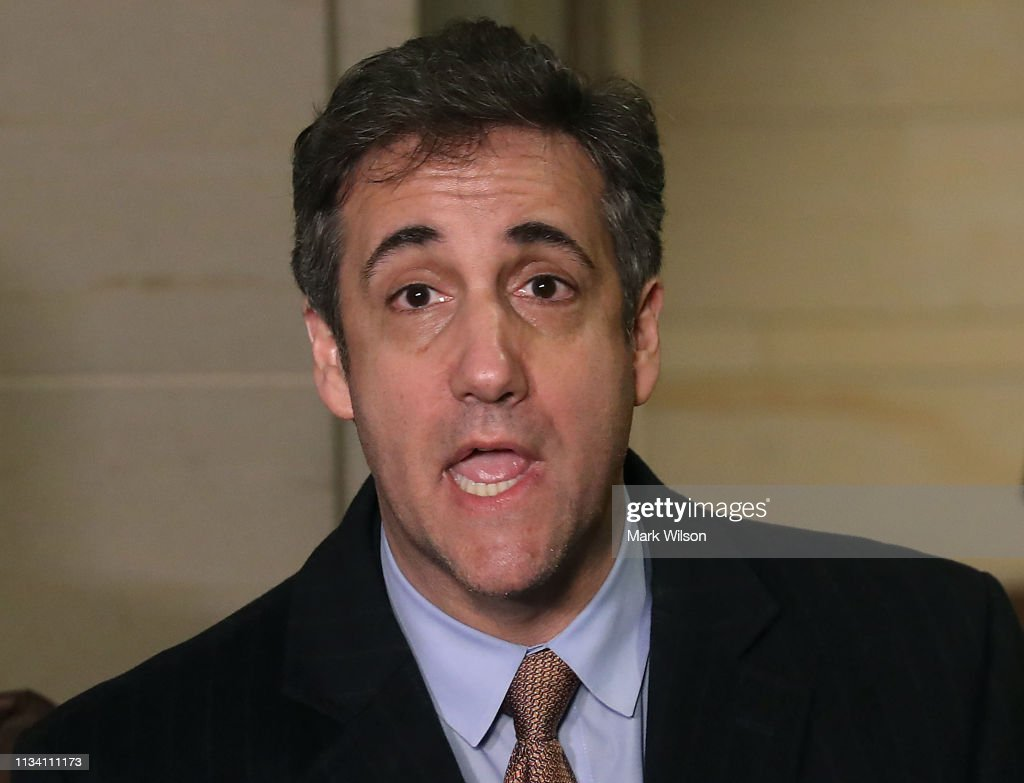 Michael Cohen Continues Testimony To House Intelligence Committee : News Photo