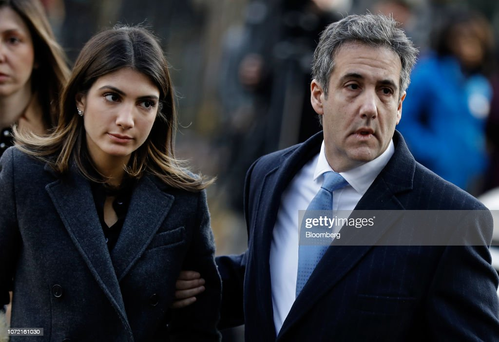 Ex-Trump Lawyer Michael Cohen Sentencing Hearing : News Photo