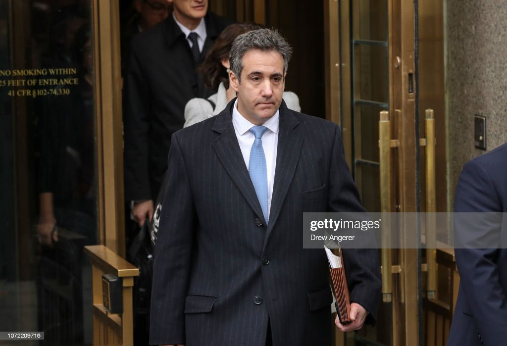 Former Trump Lawyer Michael Cohen Attends His Sentencing Hearing : News Photo