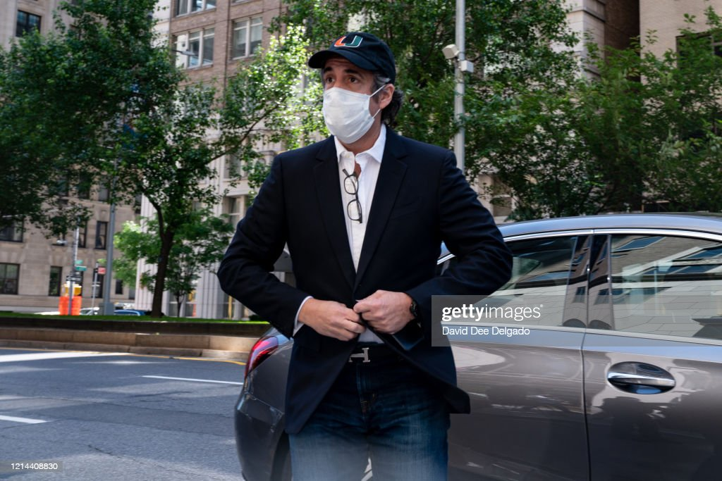 Trump Lawyer Michael Cohen Released From Prison Amid COVID-19 Pandemic : News Photo