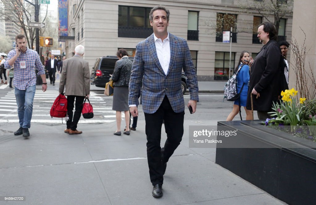 Court Hearing Surrounding Searches Of Trump Attorney Michael Cohen Held In New York : News Photo