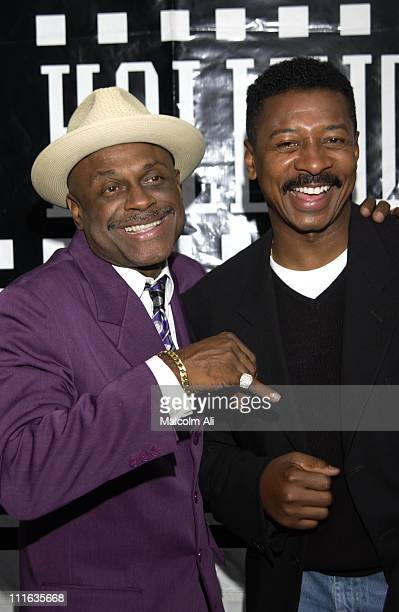 Michael Colyar and Robert Townsend during Hollywood Black Film Festival '2 Fast 2 Furious' Premiere Arrivals at Harmony Gold Preview House in...