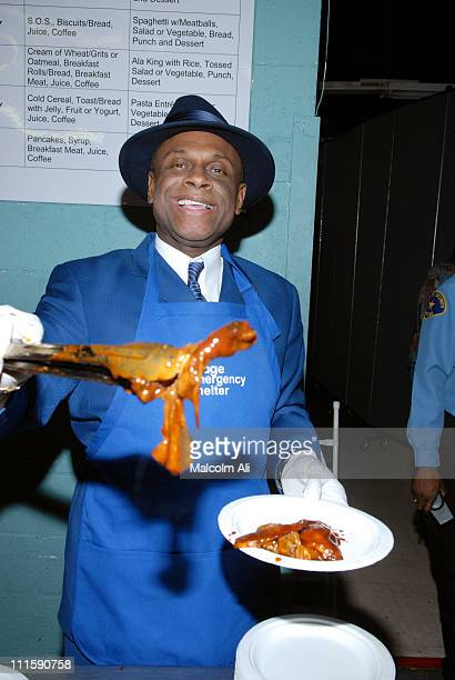 Michael Colyar during New Image Emergency Shelter for the Homeless Honors Comedian Michael Colyar and Councilwoman Jan Perry April 13 2007 at New...