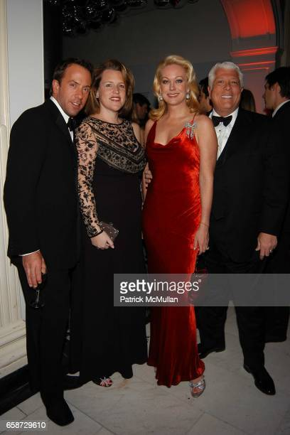 Michael Cominotto Marjorie Gubelmann Raein Guest and Dennis Basso attend The Winter Ball hosted by the Director's Council of the Museum of the City...