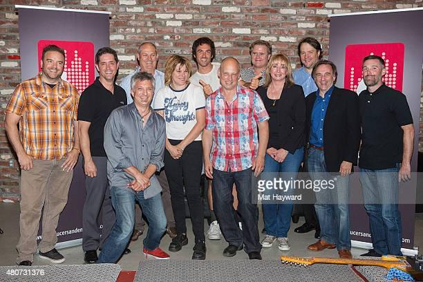 Michael Compton, Rick Murphy of AKG, Mike Clink, Star Anna, Maureen Droney, Jason Kunz of Lexicon/dbx, Peter Chaikin of JBL PRO, Brian Krawcykowski...