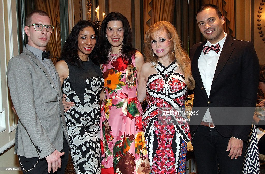 Michael Conlon, Dawne Marie Grannum, Kathleen Giordano, Joy Marks and Victor De Souza attend The New York Society For The Prevention Of Cruelty To Children's 2013 Spring Luncheon at The Pierre Hotel on April 18, 2013 in New York City.