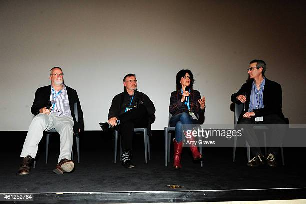 Michael Connelly James Egan NC Heikin and Ken Jacobson attend the screening of The Sound of Redemption during the 26th Annual Palm Springs...