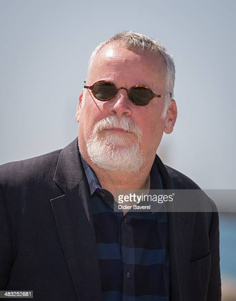 Michael Connelly poses during the photocall of 'Bosch' at MIPTV 2014 at Hotel Majestic on April 7 2014 in Cannes France