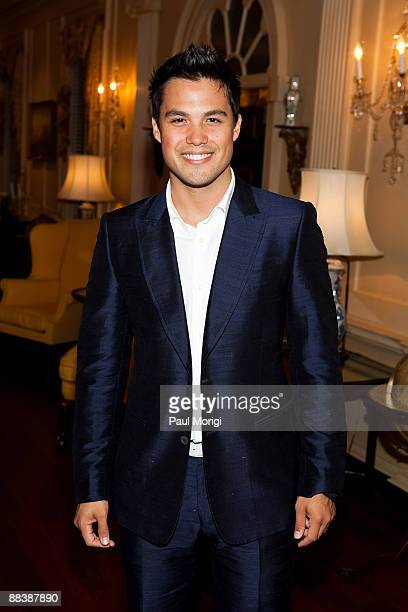 Michael Copon attends the Children Uniting Nations 4th Annual National Conference Gala Dinner at the US Department Of State's Benjamin Franklin...