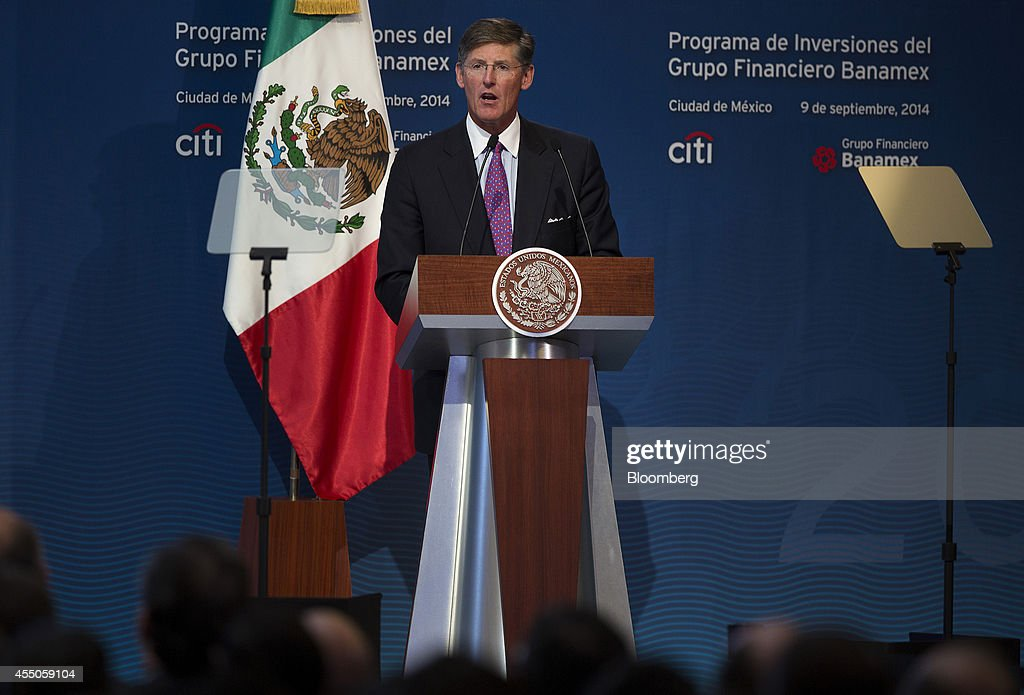 Citigroup Said To Plan $1.5 Billion Investment In Mexico By 2018 : News Photo