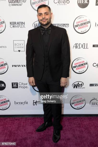 Michael Costello attends the American Influencer Award at The Novo by Microsoft on November 18 2017 in Los Angeles California