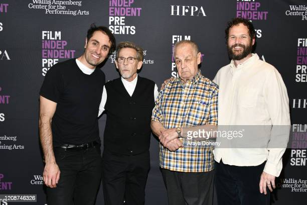 "Michael Covino, Dennis Christopher, Paul Dooley and Kyle Marvin at the Film Independent Screening Series Presents Live Read Of ""Breaking Away"" at..."