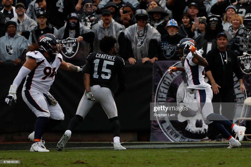 Denver Broncos v. Oakland Raiders : News Photo