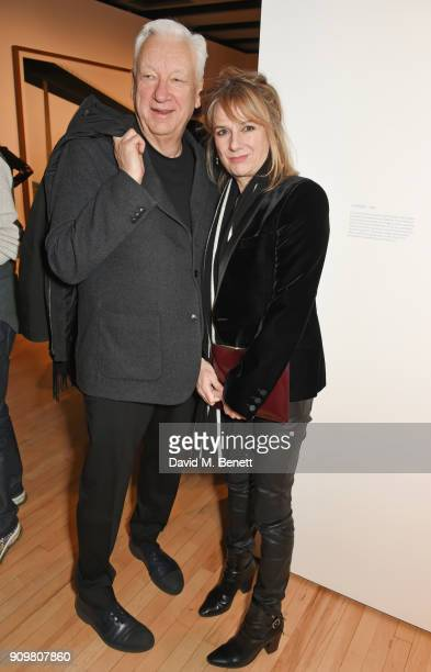 Michael CraigMartin and Amanda Levete attend the reopening of The Hayward Gallery featuring the first major UK retrospective of the work of German...
