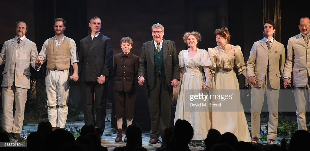 """""""The Go-Between"""" - Press Night - Curtain Call & Backstage : News Photo"""