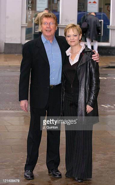 Michael Crawford and Maria Friedman during The World Premiere of A Woman In White A New Musical by Andrew Lloyd Webber at The Palace Theatre in...