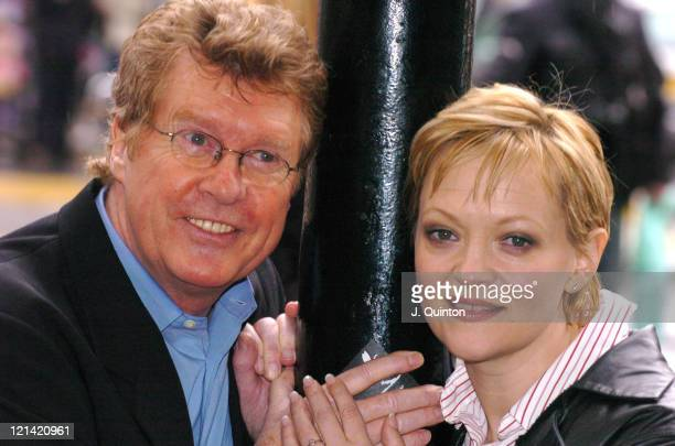 """Michael Crawford and Maria Friedman during The World Premiere of """"A Woman In White"""" - A New Musical by Andrew Lloyd Webber at The Palace Theatre in..."""