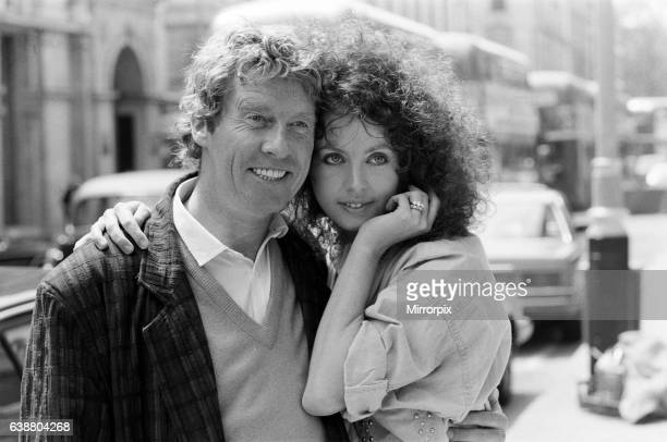 Michael Crawford and Sarah Brightman who are starring in the new musical The Phantom of the Opera by Andrew Lloyd Webber and Harold Prince 27th May...