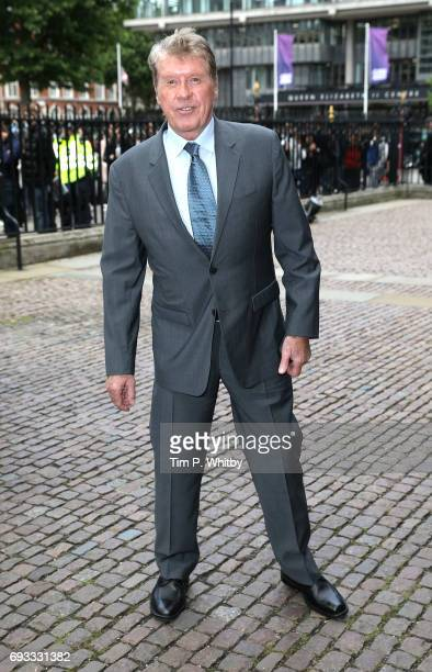 Michael Crawford attends a memorial service for comedian Ronnie Corbett at Westminster Abbey on June 7, 2017 in London, England. Corbett died in...