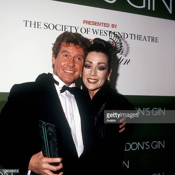 Michael Crawford British Actor Winner Of The 1986 Laurence Olivier Award For Outstanding Performance Of The Year By An Actor In A Musical Pictured...
