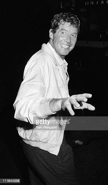 Michael Crawford during Michael Crawford Sighting leaving Her Majesty's Theatre after his performance in 'The Phantom Of The Opera - June 1987 at Her...