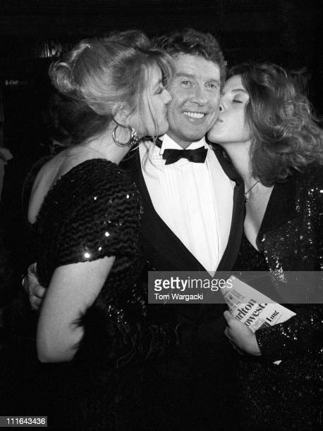Michael Crawford during The Phantom Of The Opera - Opening Night Party - January 26, 1988 at Beekman Theatre in New York City, United States.