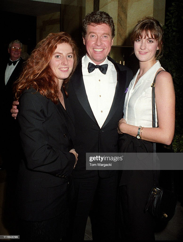 Michael Crawford with his Daughters, Opening Night at the Royal Albert Hall -